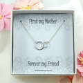 Mother Gift from Daughter,Gift to Mother from Daughter,Mother Daughter Necklace