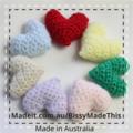 Crocheted heart for mum