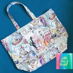 May Gibbs Mays Adventure/ Tote Bag