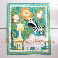 Zoo Animal Blanket