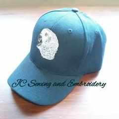 African Grey Parrot Cap