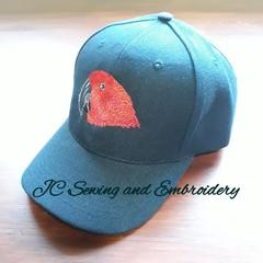 Eclectus Hen Parrot Cap