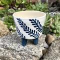 Handmade Plant Pot | Hand painted Pot | Unique gift