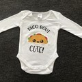 Taco bout cute onesie