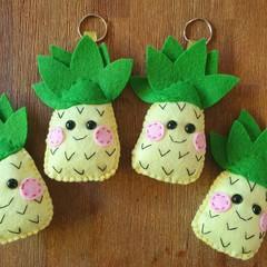 Precious Pineapple Keyrings