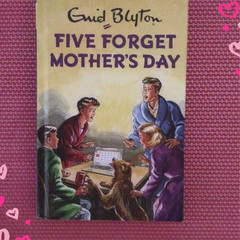 2021/2022 Financial Year  Upcycled Diary - Five Forget Mother's Day