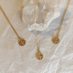 Eye of Horus pendant - Gold 45cm