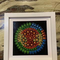 ROSELLA -Dot mandala painting