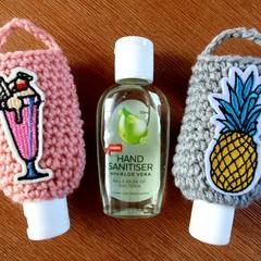 Crochet Hand Sanitizer Pouches