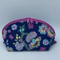 Clam Up Extra Large Cosmetic Bag-Floating Flowers