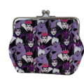 Emily Tote - Purple Disney Villainesses with free makeup/medicine clutch purse