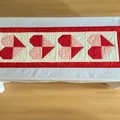 Be my Valentine Table Runner/Wall Hanging