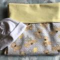 Baby Blanket Teddy Bears Lemon