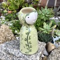 """""""Green Lady""""  Hand made Vase (SOLD)"""