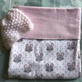 Baby Blanket Miss Mouse Pink