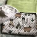 Baby Blanket Prairie Green