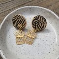 Plant lovers earrings
