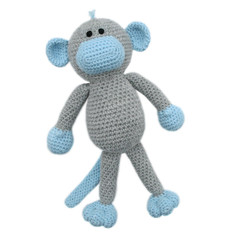 'Miles the Monkey' Amigurumi Crochet Toy Softie