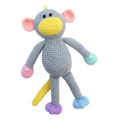 'Mixie the Monkey' Amigurumi Crochet Toy Softie
