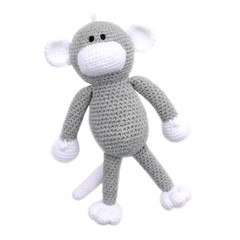 'Montgomery the Monkey' Amigurumi Crochet Toy Softie