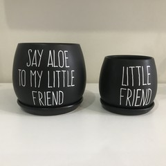 Say aloe to my little friend pot set