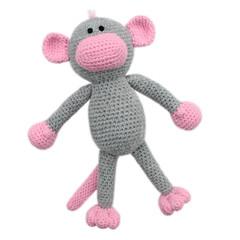 'Mila the Monkey' Amigurumi Crochet Toy Softie