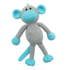 'Morgan the Monkey' Amigurumi Crochet Toy Softie
