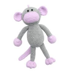 'Mabel the Monkey' Amigurumi Crochet Toy Softie