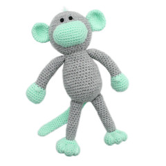 'Morris the Monkey' Amigurumi Crochet Toy Softie