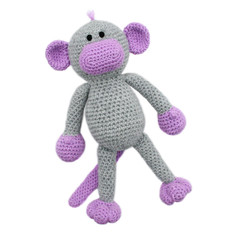 'Millicent the Monkey' Amigurumi Crochet Toy Softie