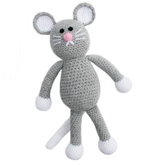'Max the Mouse' Amigurumi Crochet Toy Softie