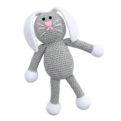'Baxter the Bunny' Amigurumi Crochet Toy Softie