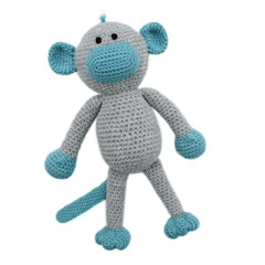 'Murphy the Monkey' Amigurumi Crochet Toy Softie