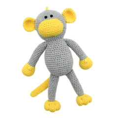 'Marley the Monkey' Amigurumi Crochet Toy Softie