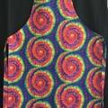 Apron Cotton Tie Dye Print