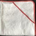 New Born Hooded Bath Towel Red Polka Dots