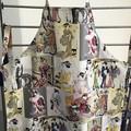 Apron Cotton Geisha Print