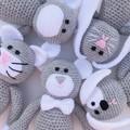 'Montgomery the Monkey' Crochet Toy Softie