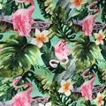 Apron Cotton Flamingo Print