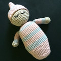Softie Baby Girl Doll 'Sleepyhead Amigurumi'