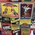 Apron Cotton Vintage Coffee Print