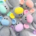 'Mila the Monkey' Crochet Toy Softie
