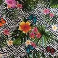 Apron Cotton Hibiscus Print