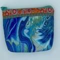 Small Zipper Pouches-Ocean Swirls