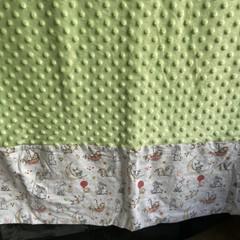 Mink cot blankets