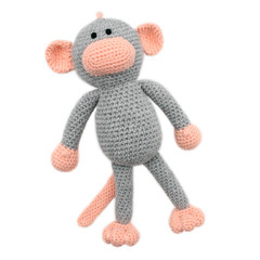 'Mackenzie the Monkey' Amigurumi Crochet Toy Softie