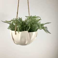 Ceramic Hanging Planter / Hanging Planter Pot/ Hanging Pot