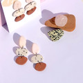 Contemporary Clay Drop Earrings