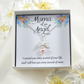 Mama Of An Angel Necklace,Miscarriage Gift Necklace,Sorry For Your Loss