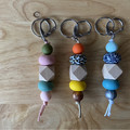Large Keyring with Clip